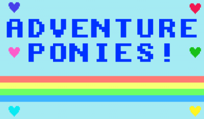 Adventure Ponies Splash Screen