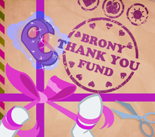 Brony Thank-You Fund