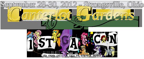 Canterlot Gardens / Galacon