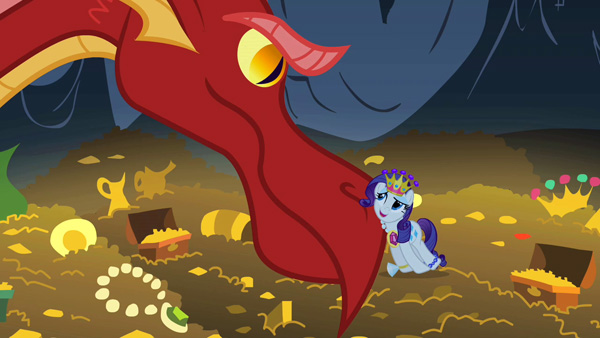 Rarity and the Dragon