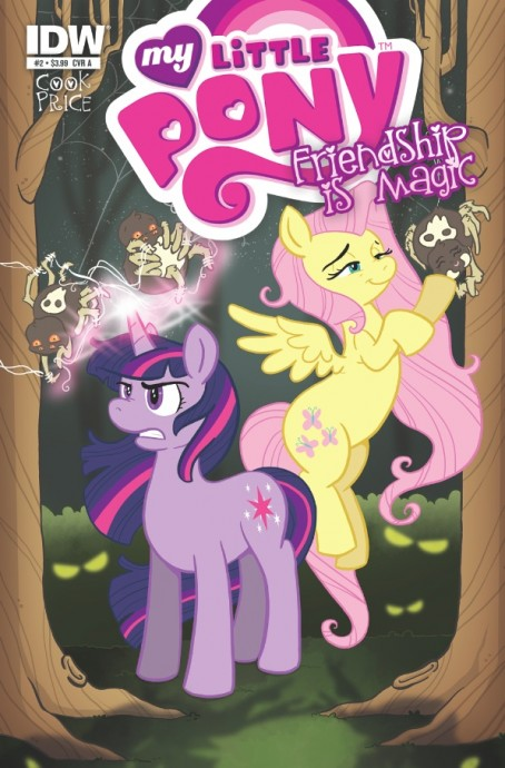 MLP Comic 2 Cover