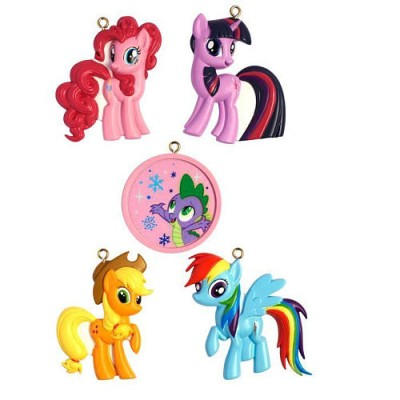 American Greetings 2012 My Little Pony Ornaments