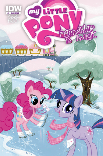 MLP: FiM Comic Cover 3