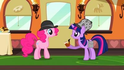 Pinkie Holmes and Twilight Watson