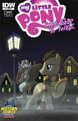 FiM Comics Cover Doctor Whooves