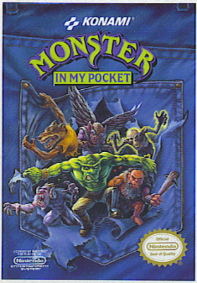 Monster in My Pocket (NES game cover)