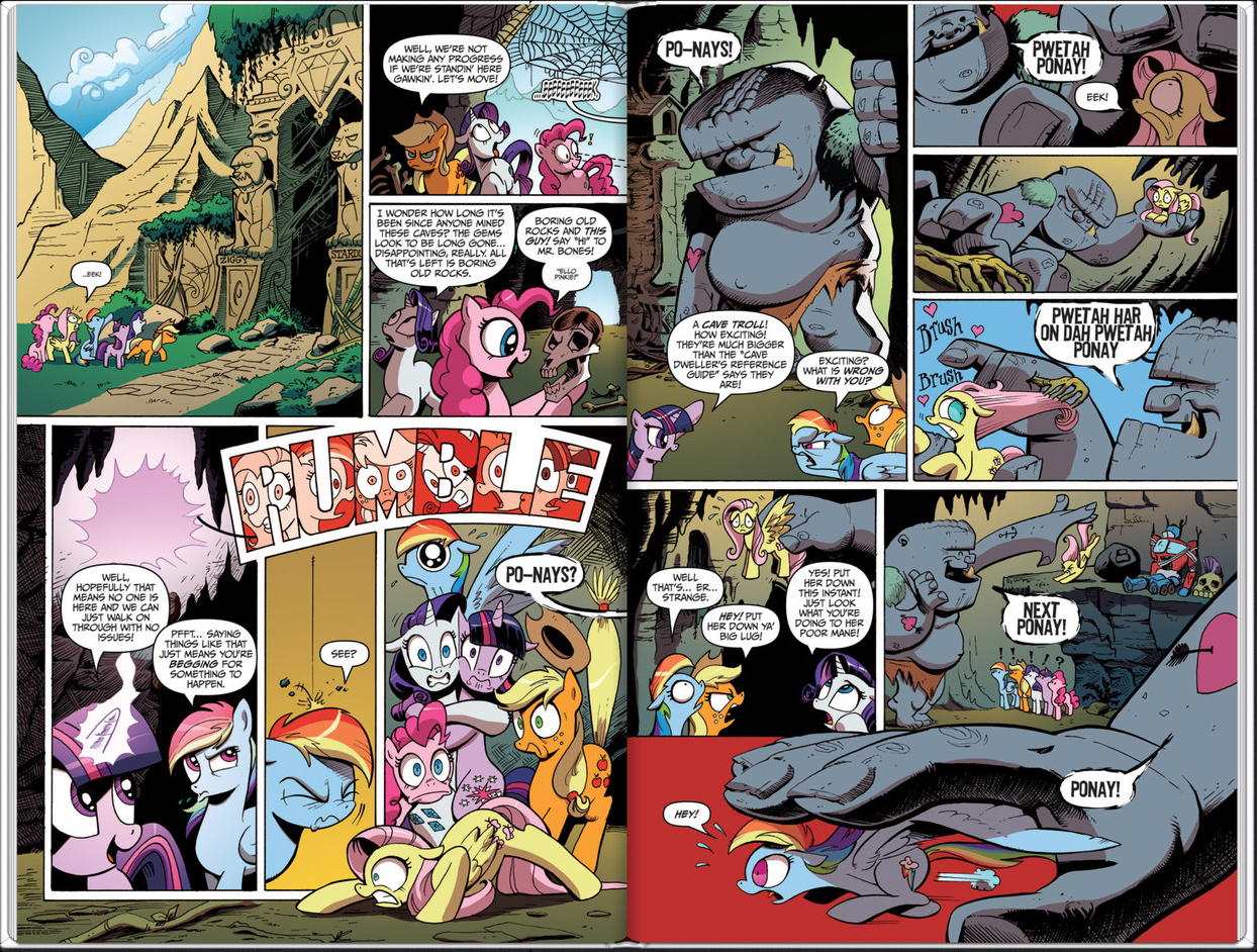 MLP: FiM Comics Issue #2 Preview Pages Available, Preorder on ...