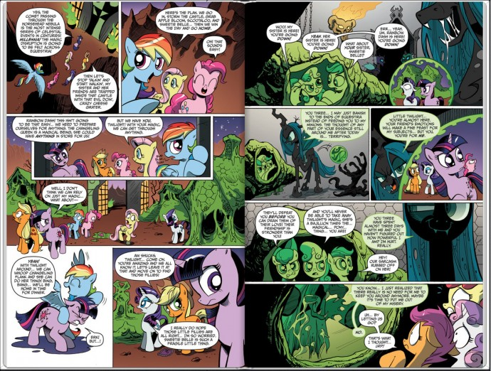 MLP Issue 4 Page 2, 3
