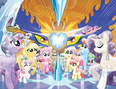 MLP Issue #4 Special Cover